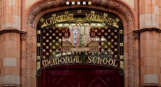 Cardinal Vaughan Memorial School Entrance